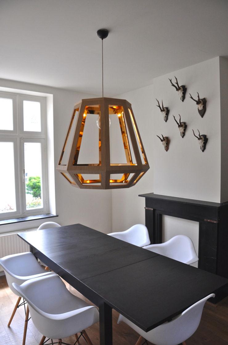 Çedille by Françoise Oostwegel Living roomLighting Perunggu Wood effect