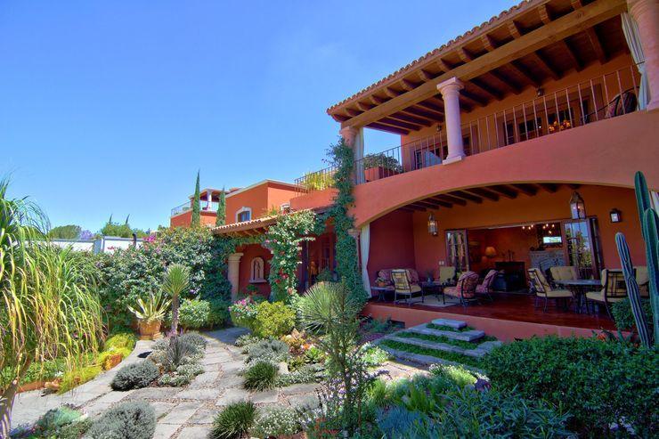 Casa Sancho Terra Balcones y terrazas clásicos