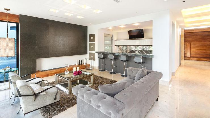 Imativa Arquitectos Modern living room