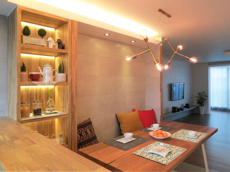 은은하고 심플한 럭셔리 하우스_31py 홍예디자인 모던스타일 주방