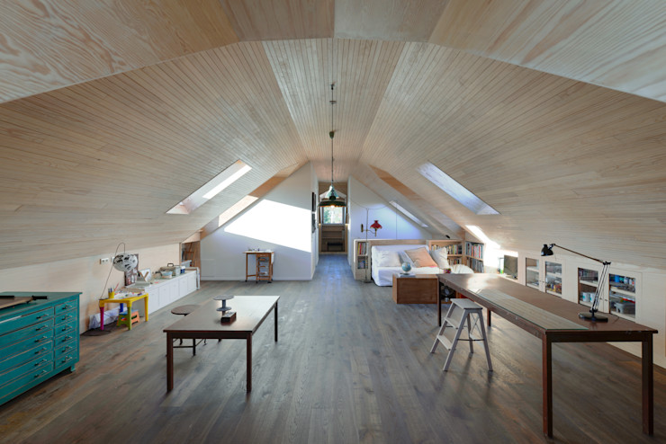 Ricardo Moreno Arquitectos Modern style study/office