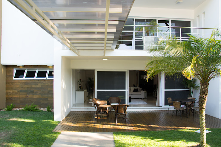 homify Balcon, Veranda & Terrasse modernes