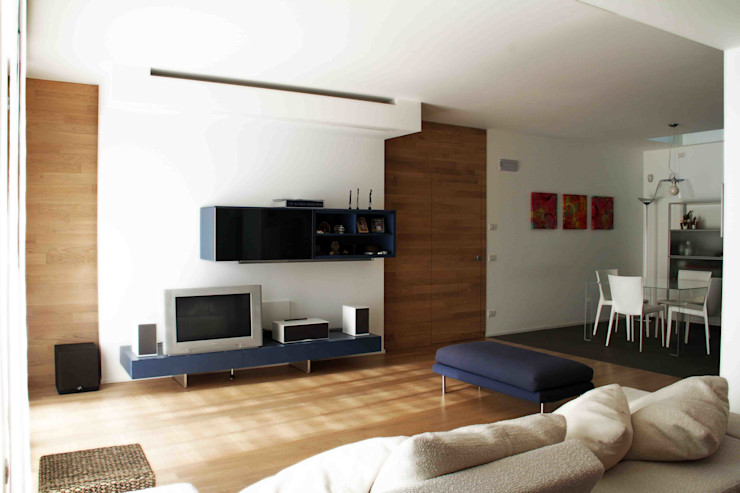Federico Pisani Architetto Modern living room