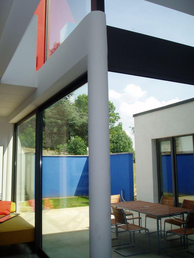 Maison à Malzéville MHA ARCHITECTURE Maisons modernes