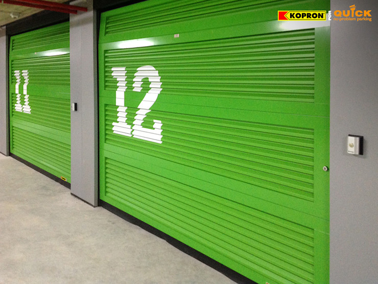 Kopron S.p.A. Modern Garage and Shed