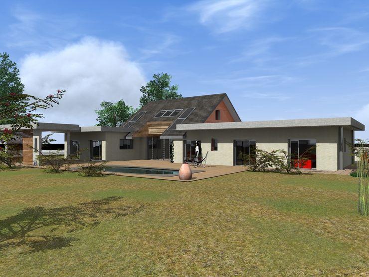 Maison Contemporaine AeA - Architecture Eric Agro Maisons modernes