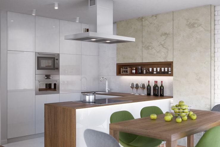 Kunkiewicz Architekci مطبخ