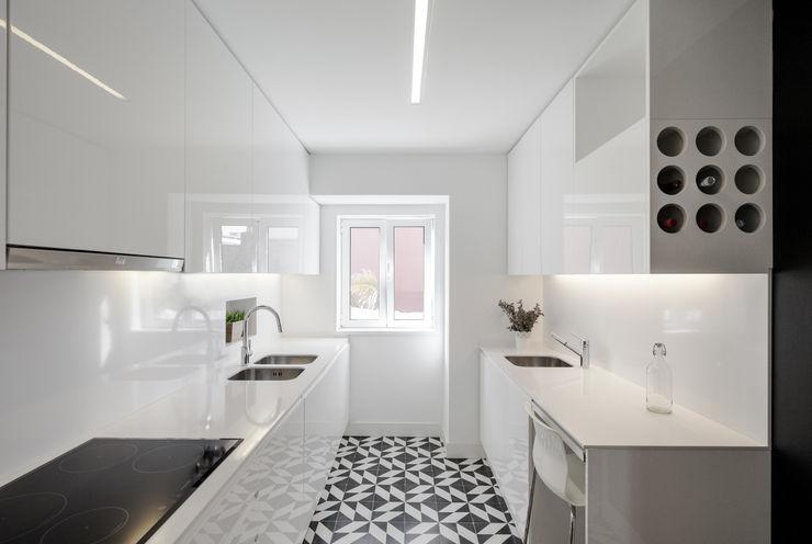 Apartamento São Caetano VSS ARQ Cozinhas minimalistas