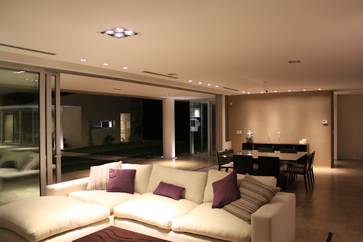 cm espacio & arquitectura srl Modern living room