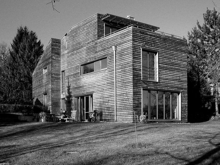 Fürst & Niedermaier, Architekten Modern Garden Wood