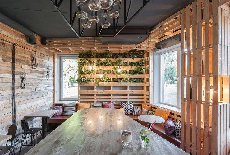 EUGENE MESHCHERUK   architecture & interiors Comedores de estilo industrial