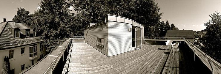 Fürst & Niedermaier, Architekten Modern Terrace Wood