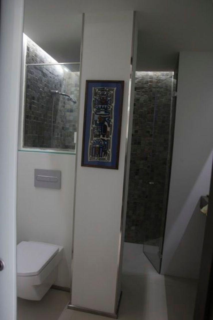 Tazas suspendidas& detalles acero inoxidable JCandel Baños modernos Hierro/Acero