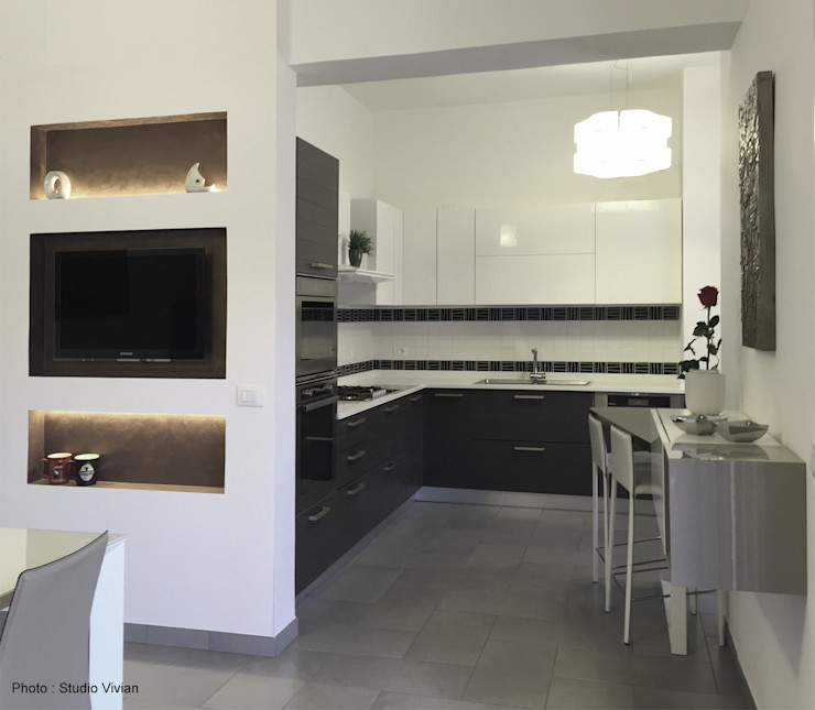 Studio Vivian Modern Kitchen