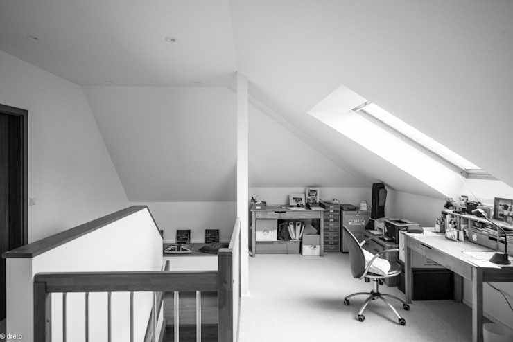 Study The Chase Architecture Modern style study/office