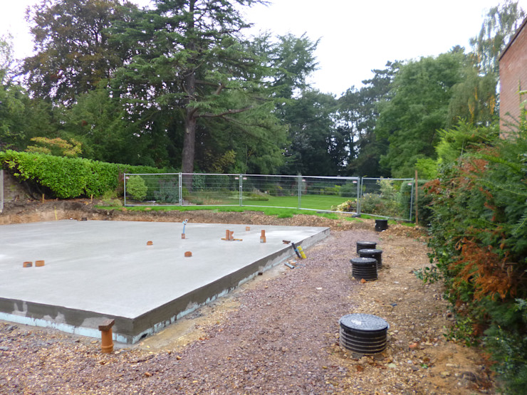 Pre delivery slab The Chase Architecture Modern houses