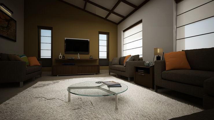 Rafiq Residence dd Architects Living room