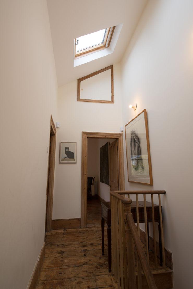 Albion Terrace ATOM BUILD LTD Modern Corridor, Hallway and Staircase