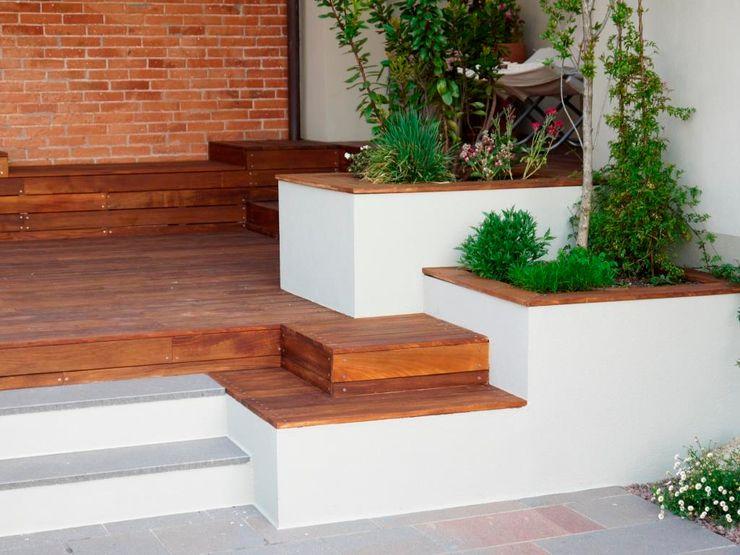 Terrazze Paola Thiella Giardino moderno