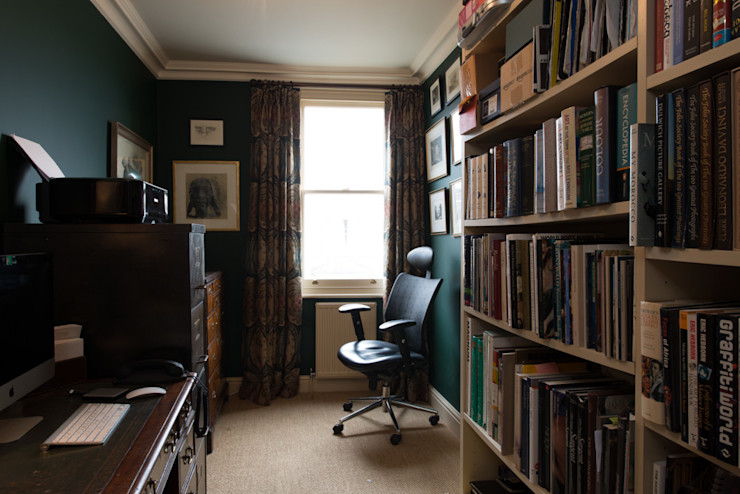 14 Offley Road ATOM BUILD LTD Modern Study Room and Home Office