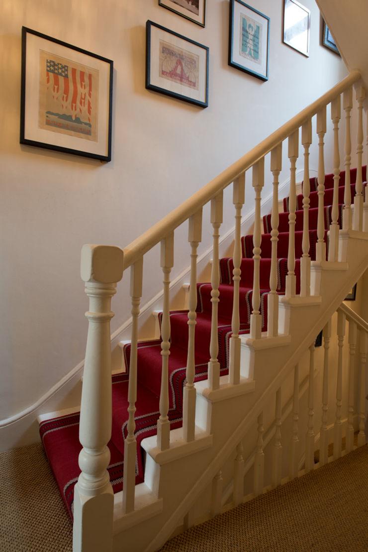 14 Offley Road ATOM BUILD LTD Modern Corridor, Hallway and Staircase
