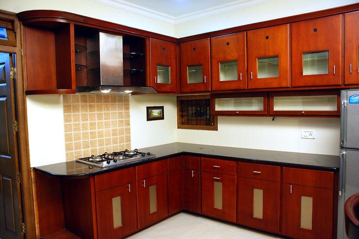 Krishnakumar Residence dd Architects Classic style kitchen