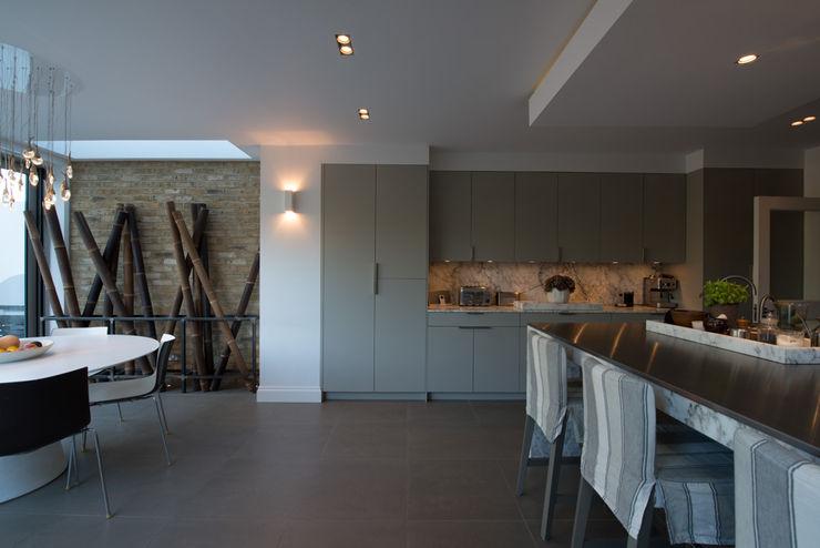 25 Chevening Road ATOM BUILD LTD Modern Dining Room