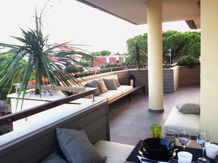 bilune studio Modern Terrace