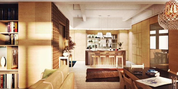 de-cube Modern kitchen