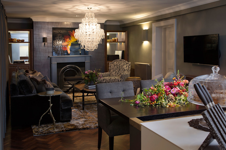 Living Room Roselind Wilson Design Вітальня
