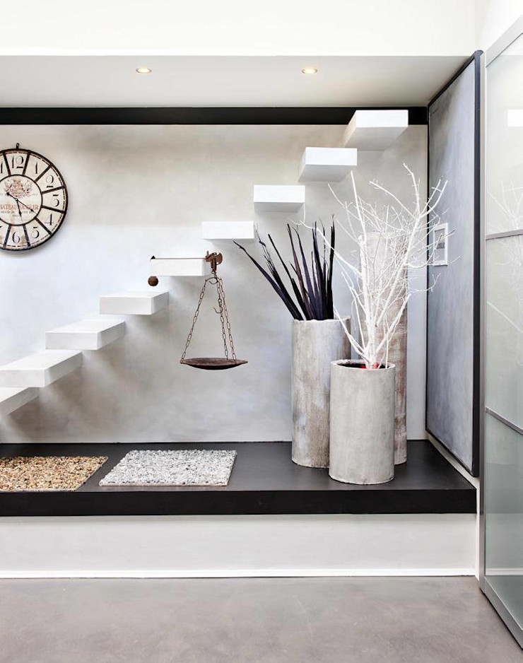 show-room a San Zeno Naviglio Resin srl Pareti & Pavimenti in stile moderno