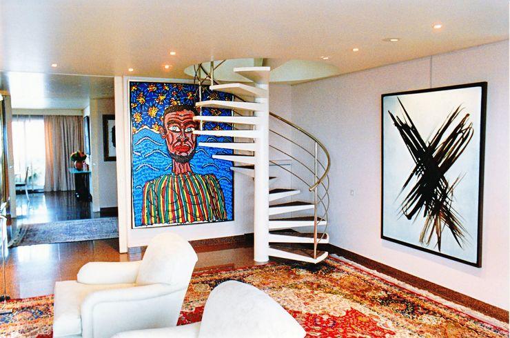 ARC et SENS Modern corridor, hallway & stairs