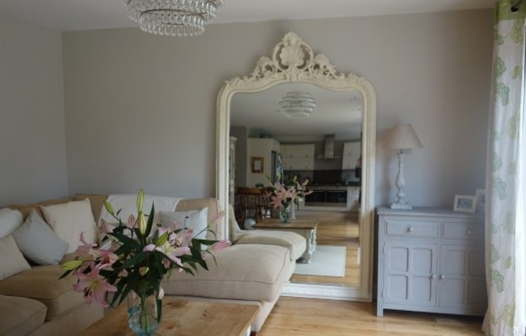 Otty mirror Mirrors by Ottilie Living roomAccessories & decoration Wood White