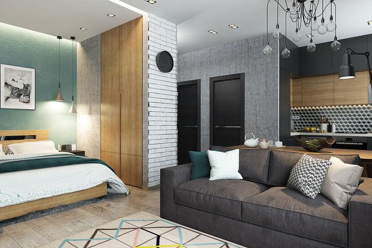 Solo Design Studio Living room Grey