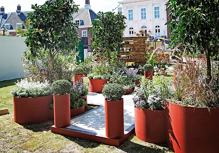NEW SECRET Gardening World Cup 2015 Studio S.O.A.P. Giardino in stile mediterraneo
