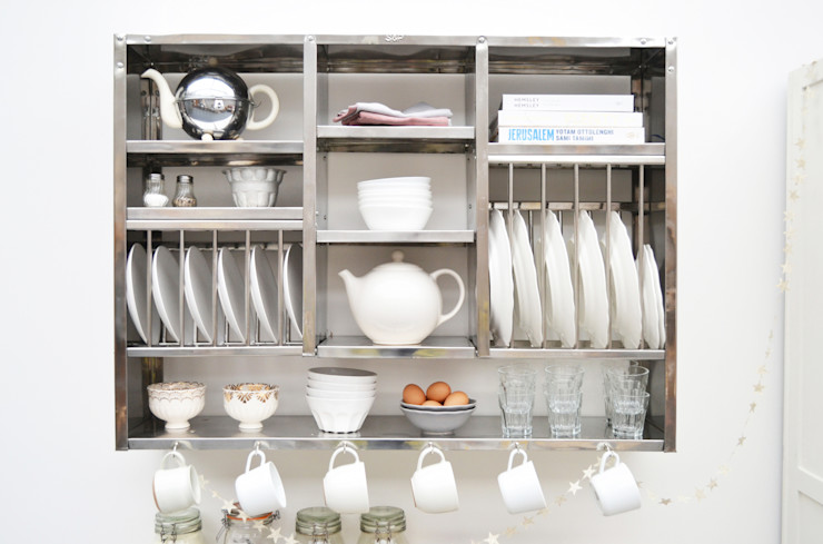 The Mighty Plate Rack The Plate Rack KitchenCabinets & shelves