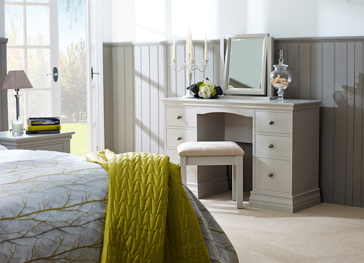Annecy Hand painted Bedroom Furniture Corndell Quality Furniture BedroomDressing tables Wood Grey