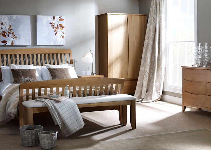 Arlingham Hand Finished Bedroom Corndell Quality Furniture BedroomBeds & headboards Wood