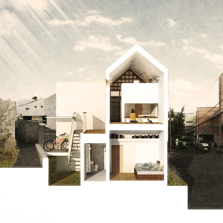홍제동 개미마을 주택 프로젝트 OBBA