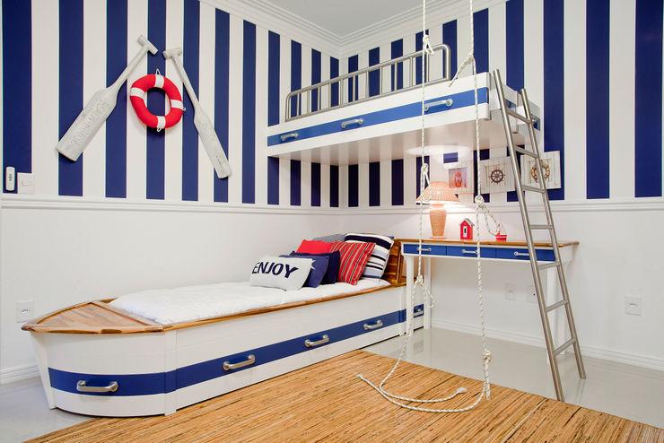 Karla Silva Designer de Interiores 嬰兒房/兒童房