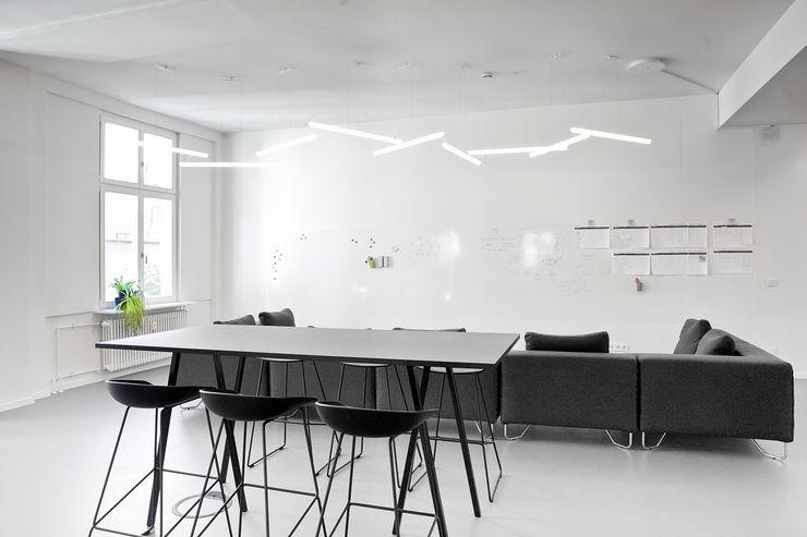 Lieferando.de YD. Your delivery GmbH Sabine Oster Architektur & Innenarchitektur (Sabine Oster UG) Moderne Bürogebäude