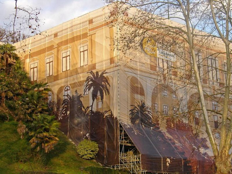 KLD Design Salones de eventos de estilo colonial