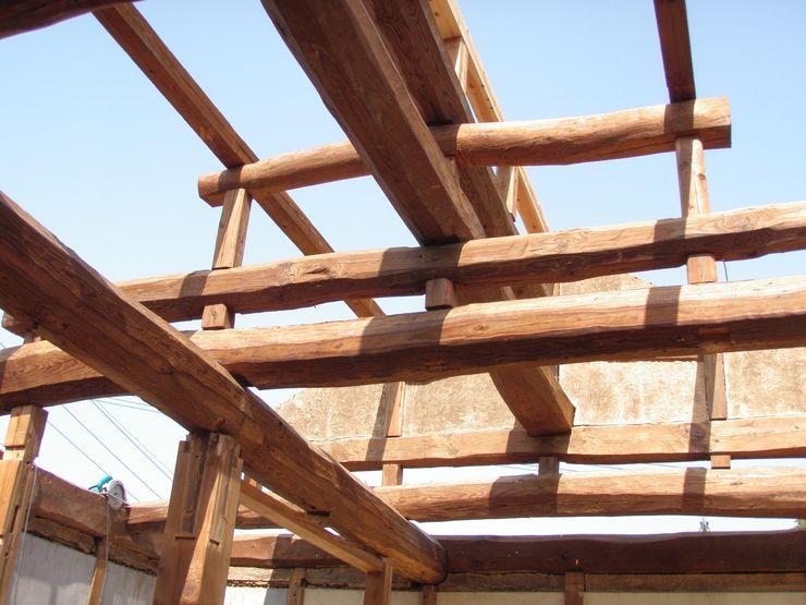 昭和25年当時のままの小屋組み 一級建築士事務所 馬場建築設計事務所