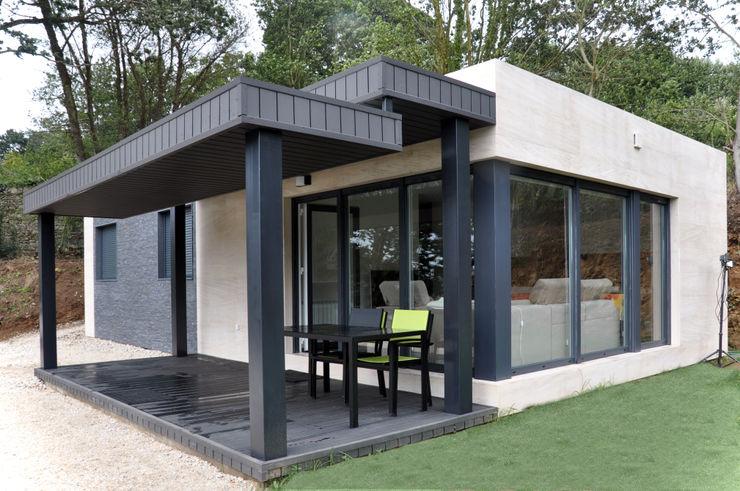 Casa prefabricada Cube 75 m2 - Porche Casas Cube Casas modernas