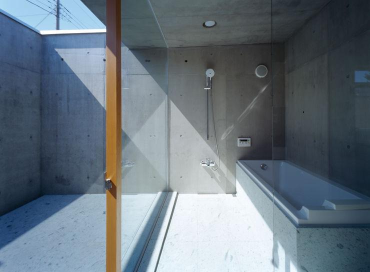 桐山和広建築設計事務所 Modern bathroom