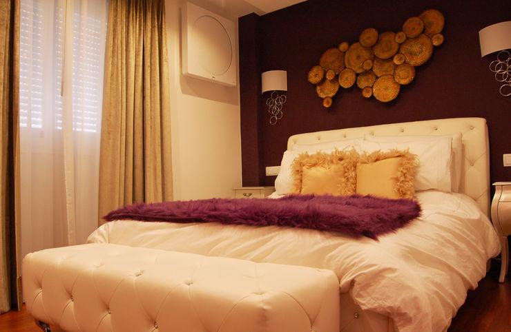 Vivienda en Getafe, Madrid FrAncisco SilvÁn - Arquitectura de Interior Dormitorios de estilo ecléctico