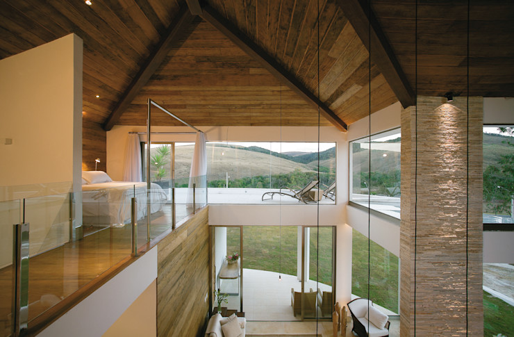 Isabela Canaan Arquitetos e Associados Modern Windows and Doors