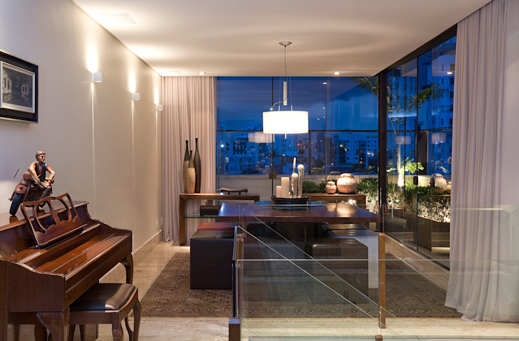 Isabela Canaan Arquitetos e Associados Modern windows & doors