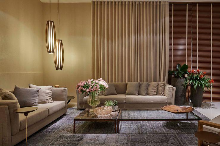 Lider Interiores Salas de estar modernas