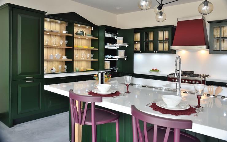 Bodrum Femaş Mobilya KitchenKitchen utensils Wood Green
